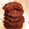 Healthier Dark Chocolate Cookies