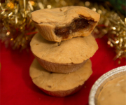 Healthy Mince Pies - Gluten free & Vegan (+Homemade Healthy Mincemeat)