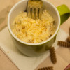 Healthy Macaroni Cheese in a Mug
