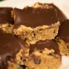 Healthy No-Bake Cookie Dough Bars