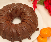 Healthy Chocolate Orange Bundt Cake