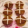 Healthy Hot Cross Muffins