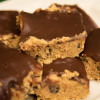 Healthy No-Bake Cookie Dough Bars