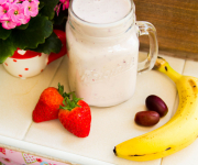 Healthy Strawberry Banana Smoothie