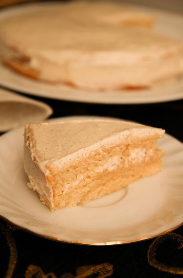 healthy vanilla cake sugar free katrina 39 s clean cooking